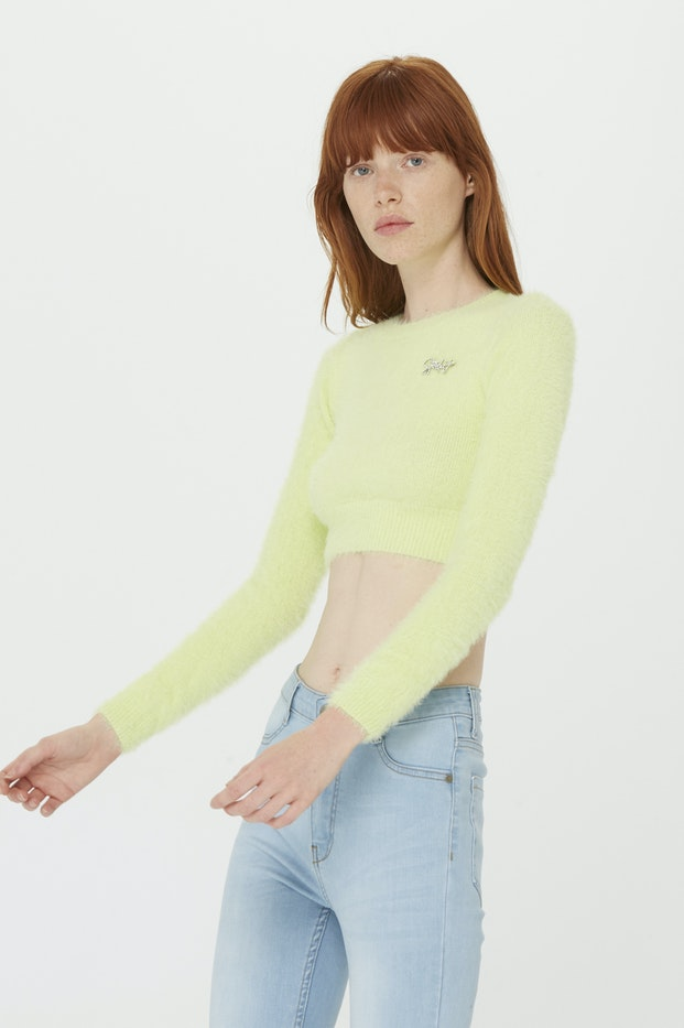 JERSEY POLINESIA FURRY TOP MUJER