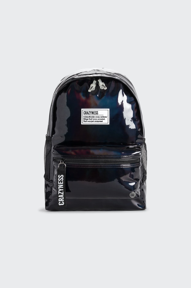 MOCHILA POLINESIA BLACK SHINE BAG