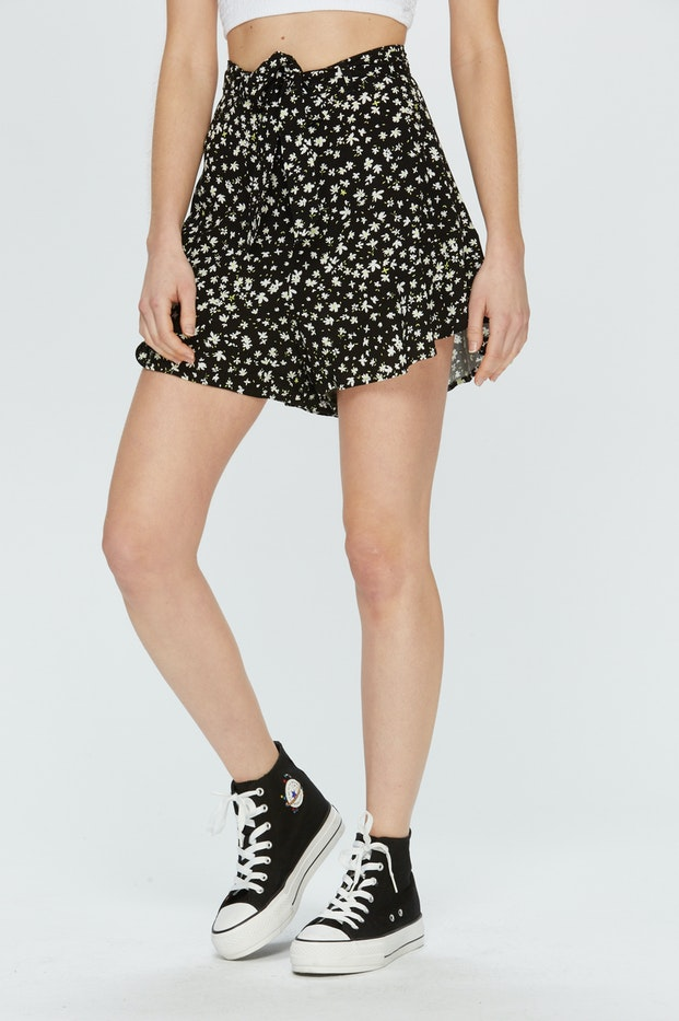SHORT POLINESIA FLOR LIBERTY MUJER