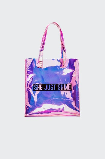 Shopping bag polinesia iridiscente mujer