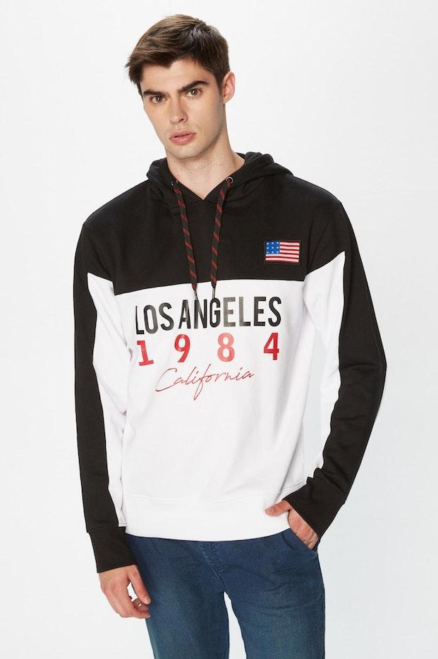 SUDADERA PLNS LOS ANGELES MN