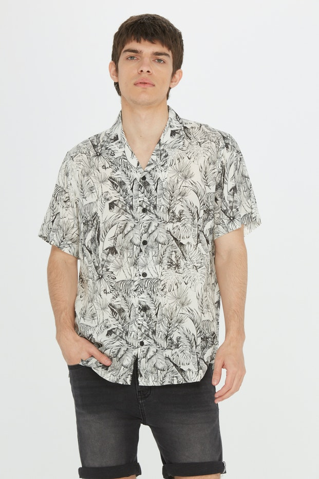 CAMISA POLINESIA ALL OVER PRINT