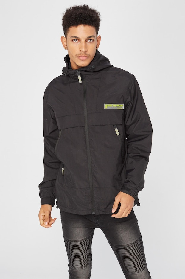 CORTAVIENTOS PLNS WINDJACKET POLAR BLACK