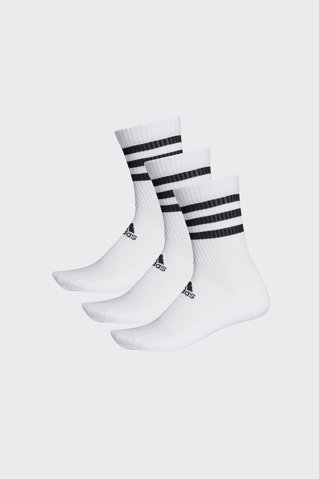 PACK CALCETINES ADIDAS 3S WHITE MAN