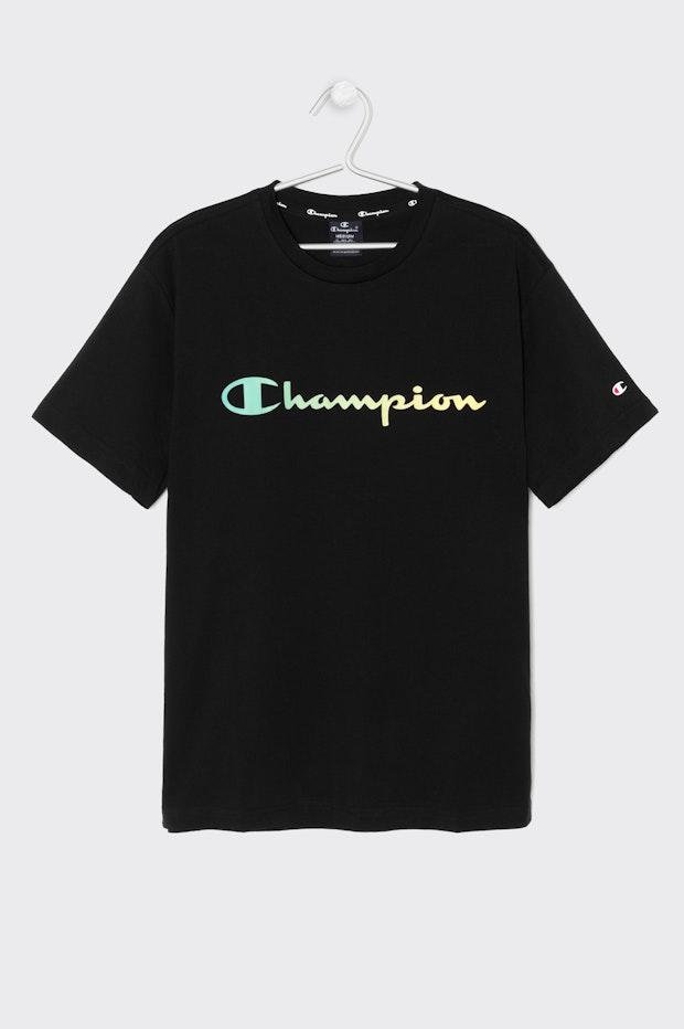 CAMISETA CHAMPION  BLACK HOMBRE