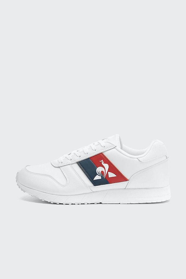 ZAPATILLA LE COQ SPORTIF JAZY CLASSIC FLAG OPTICAL WHITE HOMBRE