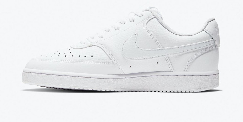 ZAPATILLA NIKE COURT VISION MN ALL WHITE